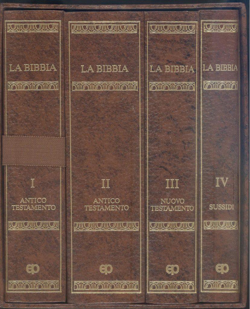 Bibbia divisa in libri